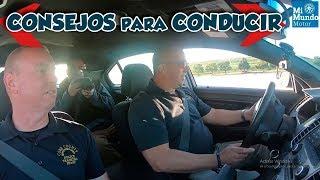 Consejos de seguridad si te detiene la policía al conducir