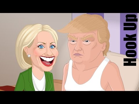 Cartoon Hook-Ups: Hillary Clinton and Donald Trump (Election Special)