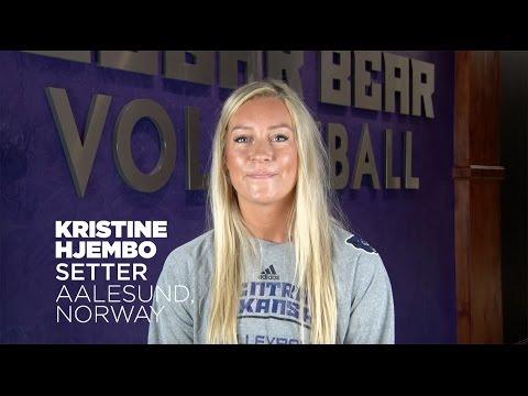 Volleyball: Meet Kristine Hjembo