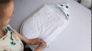 Вкладыш утеплитель в конверт кокон (конверт на выписку для новорожденного)