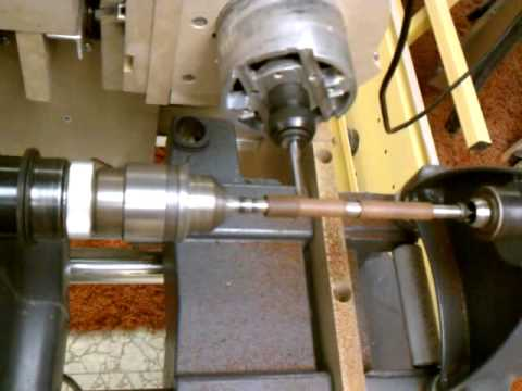 Home Built CNC Woodworking Lathe - YouTube
