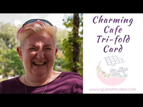 Charming Cafe Trifold Card
