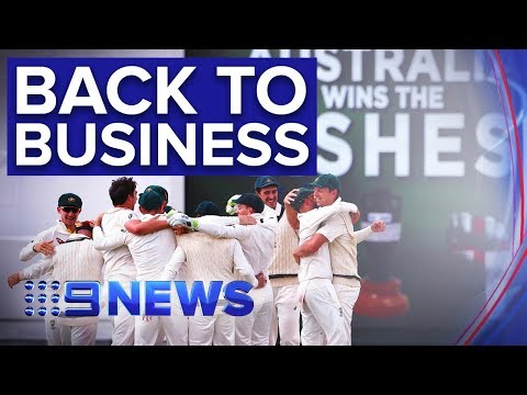 Australia Focused On Series Win After Retaining Ashes | Nine News Australia