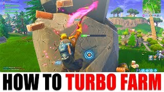 How To Turbo Farm On Console AFTER PATCH v5.21 - Fortnite Battle Royale