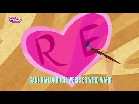RAPUNZEL - DIE SERIE 🎵 Marie-Sophie: (Heut) Weht der Wind durch mein Haar 🎵   Disney Channel