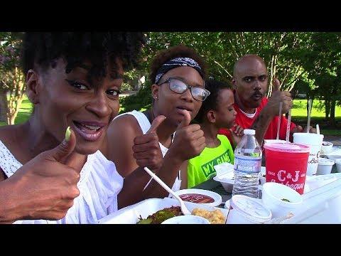 MUKBANG: BARBECUE PICNIC MUKBANG! EATING SHOW! YUMMYBITESTV