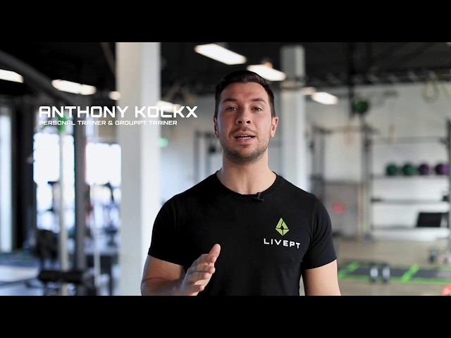 LIVEPT personal training coach Anthony vertelt over het concept