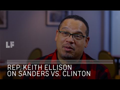 Rep. Keith Ellison on Bernie Sanders vs Hillary Clinton