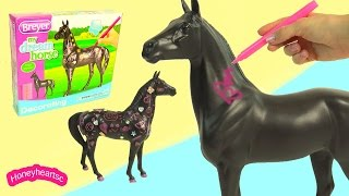 My Dream Horse Breyer Decorating Model Horses Craft Playset - HoneyHeartsc Video