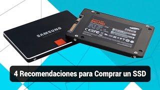 4 Recomendaciones para Comprar una Unidad de Estado Solido SSD / 7GHOOST