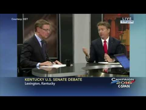 Rand Paul vs Jim Gray FULL Debate | Kentucky Senate Race