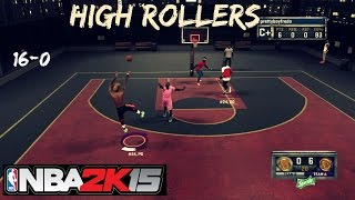 NBA 2K15 | Streaking @ High Rollers !! | 16-0 ?? 2v2 Gameplay - Prettyboyfredo