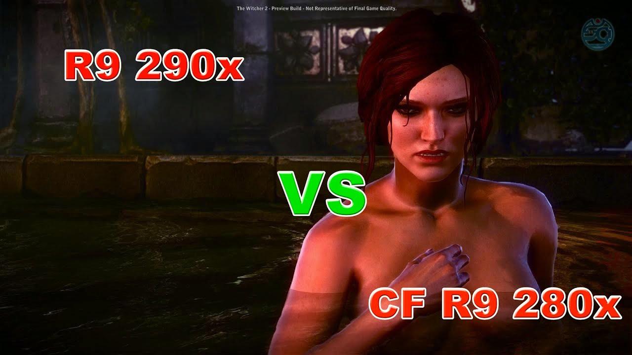 R9 290x vs СF 280x (1080p60)
