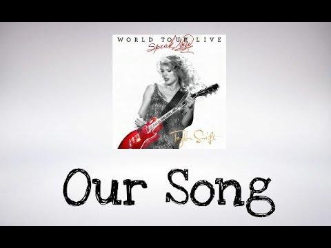 Taylor Swift  - Our Song (Speak Now World Tour Live ) DVD BONUS (Audio Official)