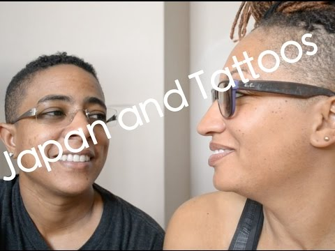 Japan and Tattoos - Lesbian couple