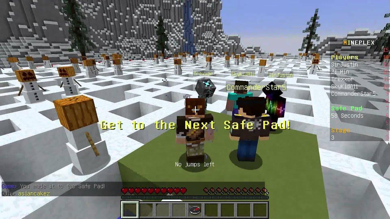 ★當個創世神★Minecraft《籽岷的1.8多人伺服器小遊戲 怪物迷宮 Monster Maze》 - YouTube