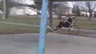 Meridian Long Wheel Base Recumbent Bike