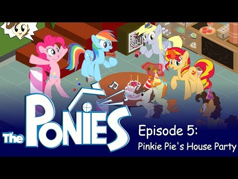 My Little Pony In The Sims - Episode 5 - Pinkie Pie's House Party