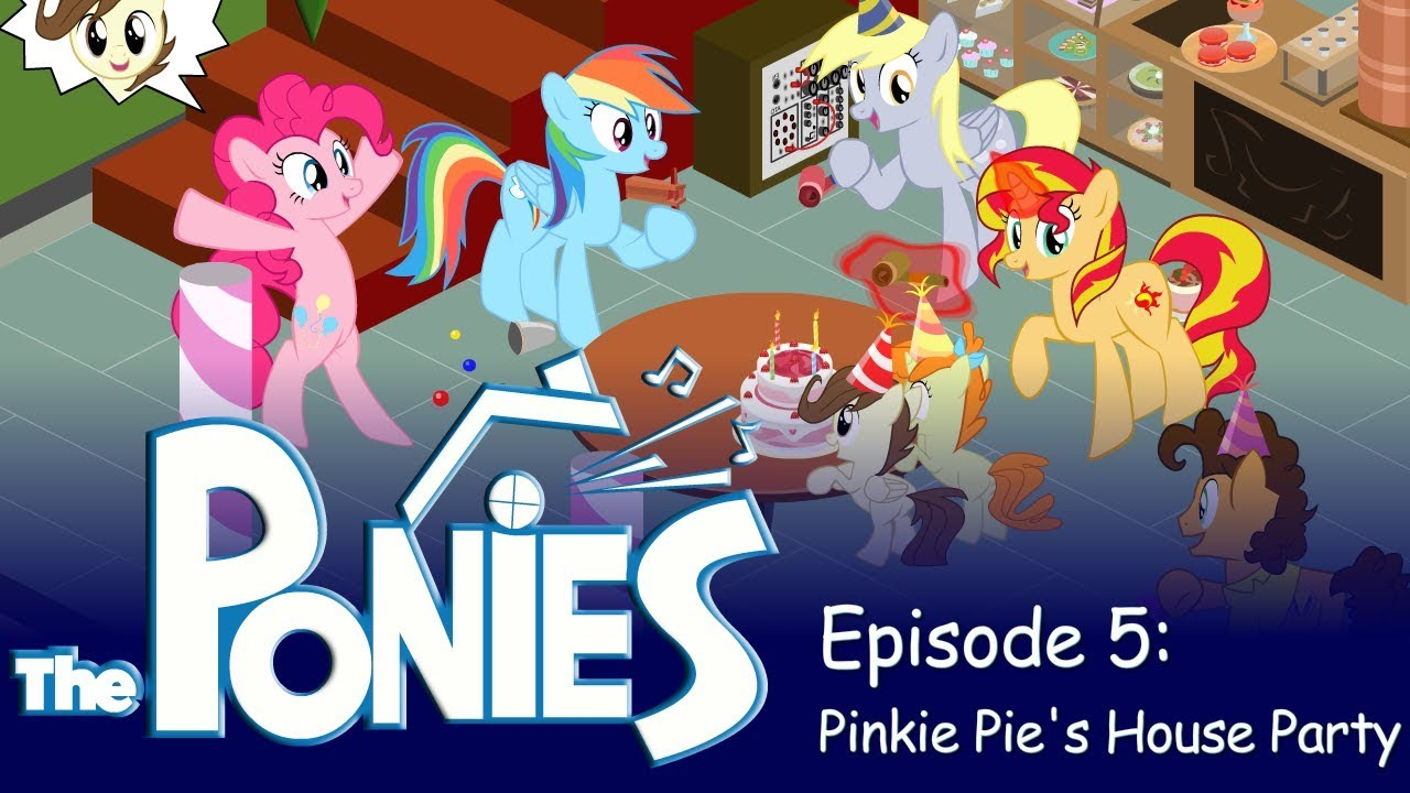 my little pony in the sims episode 5 pinkie pie s house party