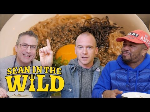 Just Blaze and Ivan Orkin Give Sean Evans a Ramen Master Class | Sean in the Wild