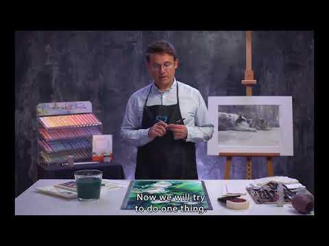 Konstantin Sterkhov's watercolour masterclass. Lesson 5