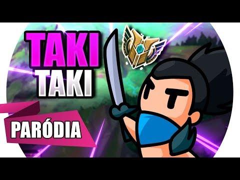 YASUO - TAKI TAKI | Paródia League of Legends / DJ Snake - Selena Gomez, Ozuna, Cardi B thumbnail