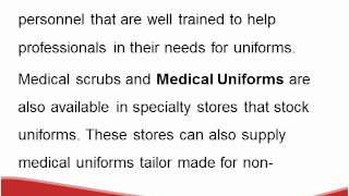 Medical Uniforms for Nurses - Evolution