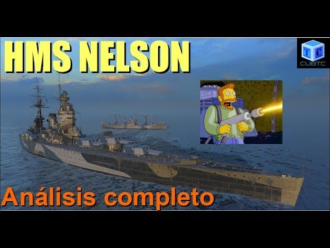 World Of Warships Español: HMS Nelson | Análisis completo