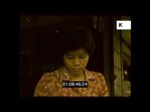 1970s Bangkok, Thailand Travelogue, HD from 35mm