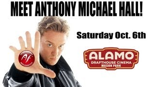 Meet Anthony Michael Hall at AmazingFest