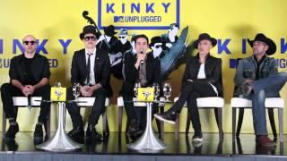 KINKY Conferencia de Prensa MTV Unplugged 1 de 4