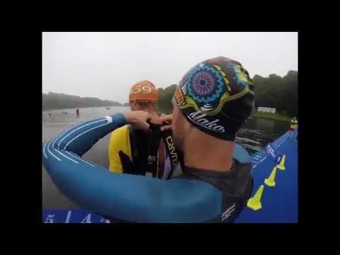2016 Leeds WTS // Swim Reco With Aurelien Raphael