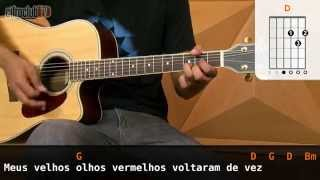 Olhos Vermelhos - Capital Inicial (aula de violão)