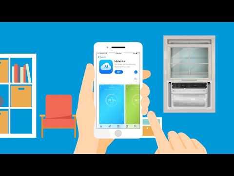 Midea SmartCool Air Conditioner  IOS Set Up For The Midea AIr App