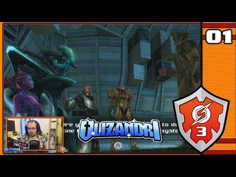 Metroid Prime 3: Corruption - Bounty Hunter Gathering, Space Pirate Attack! - Episode 1