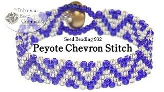 Chevron Peyote Stitch Pattern