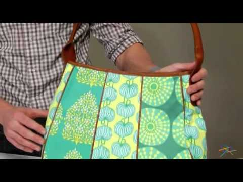 Amy Butler Muriel Fashion Bag - Opal - Product Review Video - YouTube