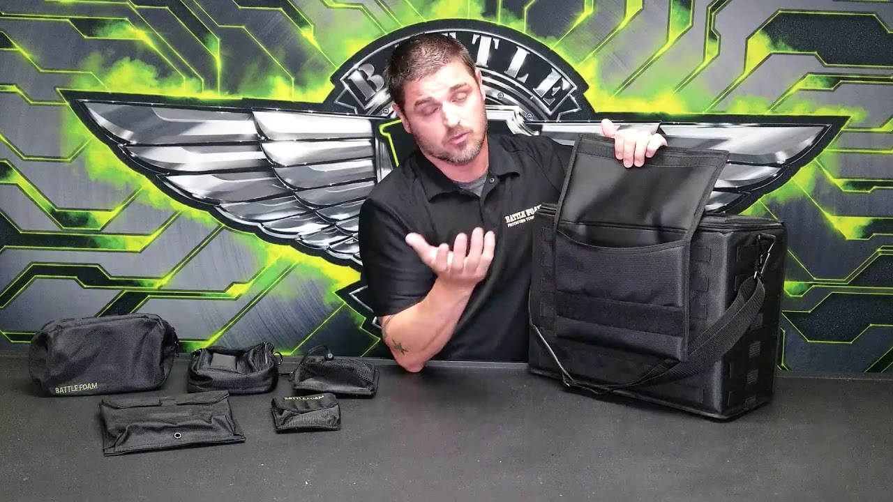 2020 Battle Foam P A C K 432 Overview Youtube The 432 pack molle is a well made medium sized case that is easy for anyone to carry. 2020 battle foam p a c k 432 overview