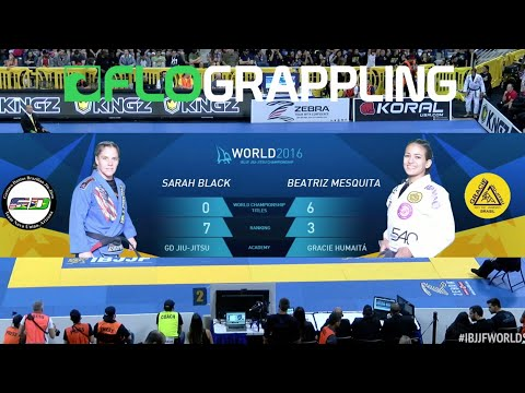 Beatriz Mesquita VS Sarah Black / World Championship 2016