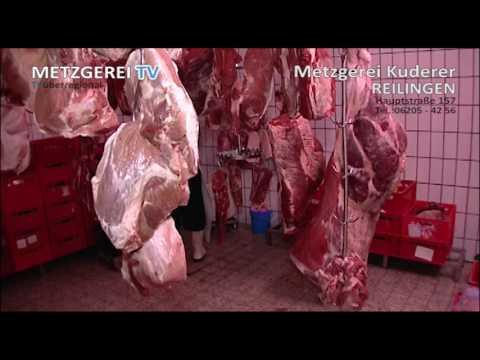 Metzgerei Kuderer Infofilm - TVüberregional beim WURSTMACHEN dabei