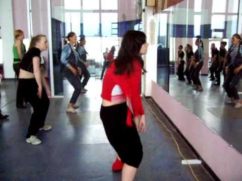 Урок пластики. Реггетон. Школа танцев Киев Латино.
