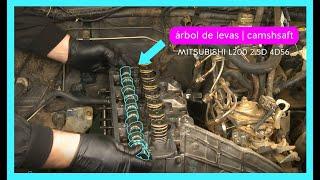 Camshaft / Árbol de levas MITSUBISHI L200 2.5D 4D56 .
