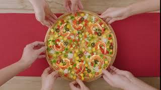 Đừng lỡ cơ hội cuối thưởng thức #Pizza_Hải_Sản_và_Salad_Xoài