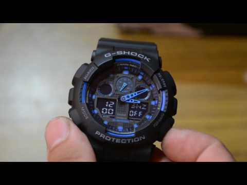 Casio G-Shock GA1001A2DR Unboxing and short review. || Nepal