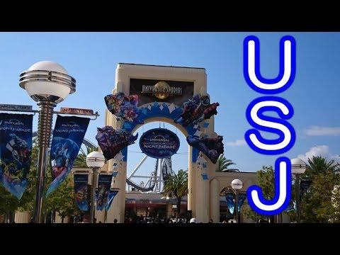 初、ユニバーサルスタジオジャパン USJ 【2018大阪旅行Vlog2】Universal Studios Japan