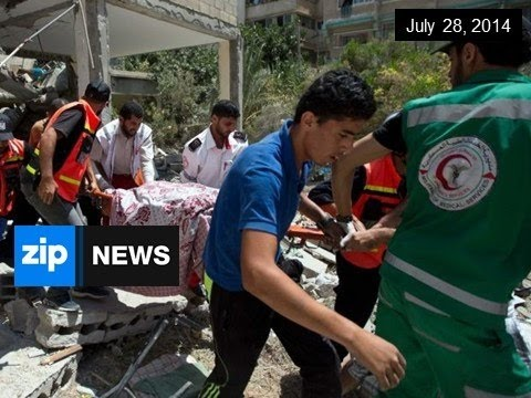 Gaza And Hamas Agree To 24 Hour Ceasefire - July 28, 2014
