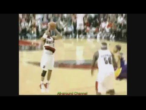 Damon Stoudamire 13 Pts 12 Ast Vs. Lakers, 2003-04. Clutch shots!