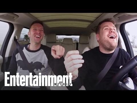 James Corden Talks Carpool Karaoke at EW Cover Shoot   Entertainment Weekly