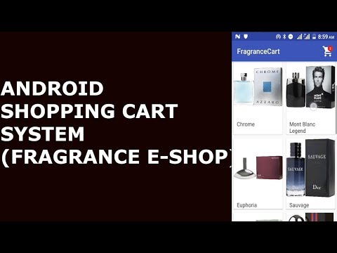 ANDROID SHOPPING CART SYSTEM (Fragrance E-Shop with PayPal) #1