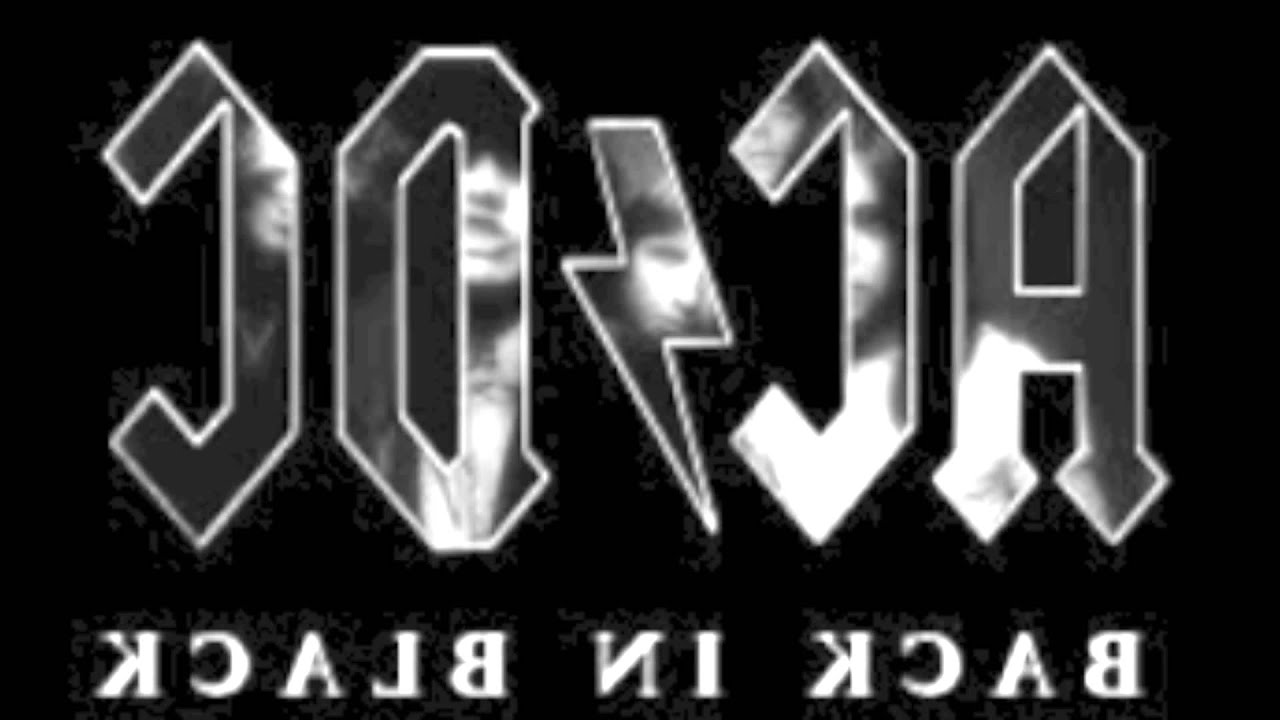 Back in Black AC/DC Backwards: What do you think it\'s saying? - YouTube